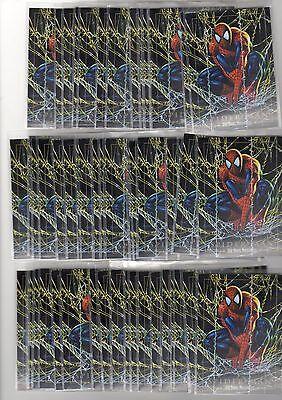 1X 1992 SPIDER MAN Marvel Masterpieces PROMO SAMPLE Bulk Lot availab NRMT Skybox