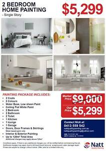 2 Bedroom Home Cheap Quality Painters in Inala starts from $159