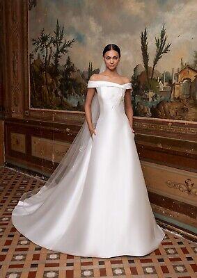 PRONOVIAS SALE Designer Wedding Dress, Bridal Gown, NEW, UK6, RRP £1750