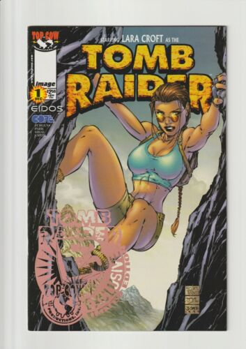 TOMB RAIDER #1 NM 9.4/NM+ 9.6 E3 FOIL STAMPED EDITION (MICHAEL TURNER COVER) HTF