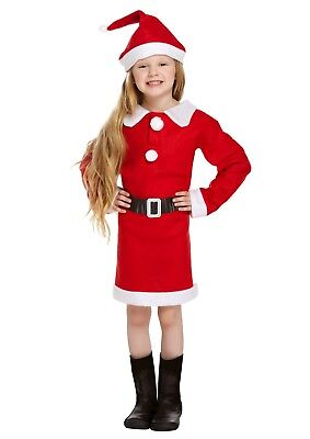 s Christmas Party Fancy Dress Up Costume Outfit Ages 4-6yrs (Mrs Claus Outfits)