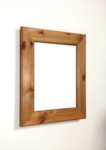 Wooden Frames for Photo and Picture in a wide Antique pine in dark and lite.