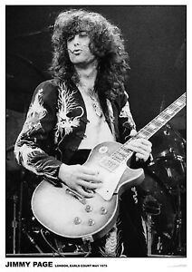 Jimmy Page (Led Zeppelin) at Earls Court, May 1975  -   33