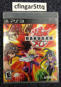 Bakugan: Battle Brawlers  (Sony Playstation 3, 2009)
