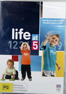 LIFE-AT-5-NEW-SEALED-REGION-4-ABC-DVD-FOR-KIDS-HOW-GIVE-A-CHILD-THE-BEST-LIFE