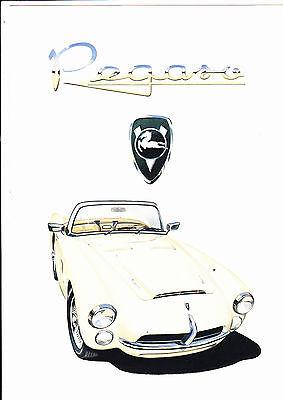 PEGASO Z-103 by IAD - brochure - 1992 - very rare - mint