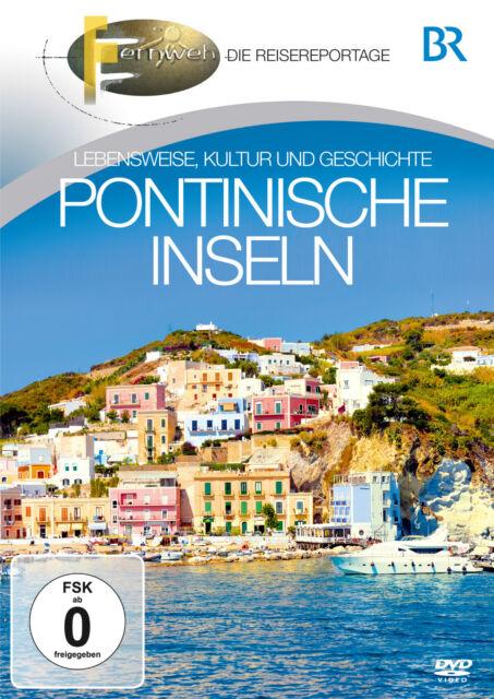 BR-FERNWEH: Pontinische Inseln (DVD) Reisemagazin mit Insider-Tipps - Neu