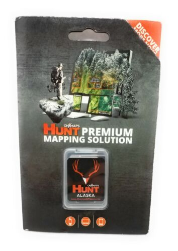 onXmaps HUNT GPS Chip for Garmin Units + 1Year Premium Membership, Alaska 208978