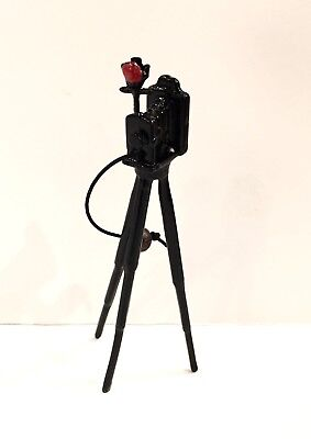 Dollhouse Miniature Old Fashioned Camera