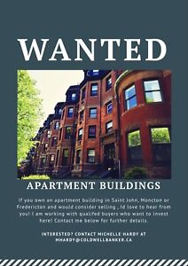 Wanted Apartment Buildings to Buy