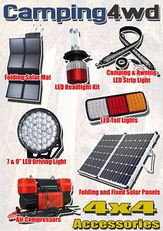 Solar Panels Inverters Battery Power Lighting Compressors Marine