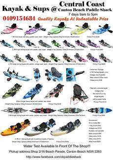 Central Coast kayak 1.8M kids kayak best value on the market