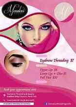 $7 Eyebrow Threading // Facials  $25 Onwards West Swan Swan Area Preview