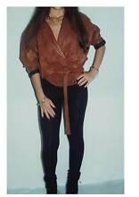 Brown Ladies' Leather Jacket Yarramundi Hawkesbury Area Preview