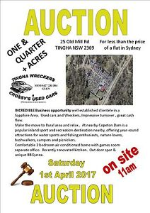 AUCTION Vehicle Wrecking Yard with Residence Tingha Guyra Area Preview