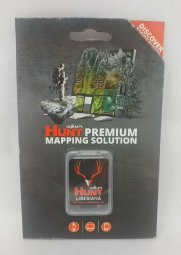 onXmaps HUNT GPS Chip for Garmin Units+1Year Prem. Membership, Louisiana 208991