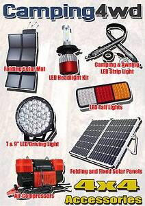 Solar, LED Light, Awning, Compressor, Battery, Inverter, Recovery Wangara Wanneroo Area Preview