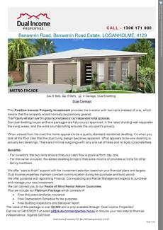Positive Income Property Investment