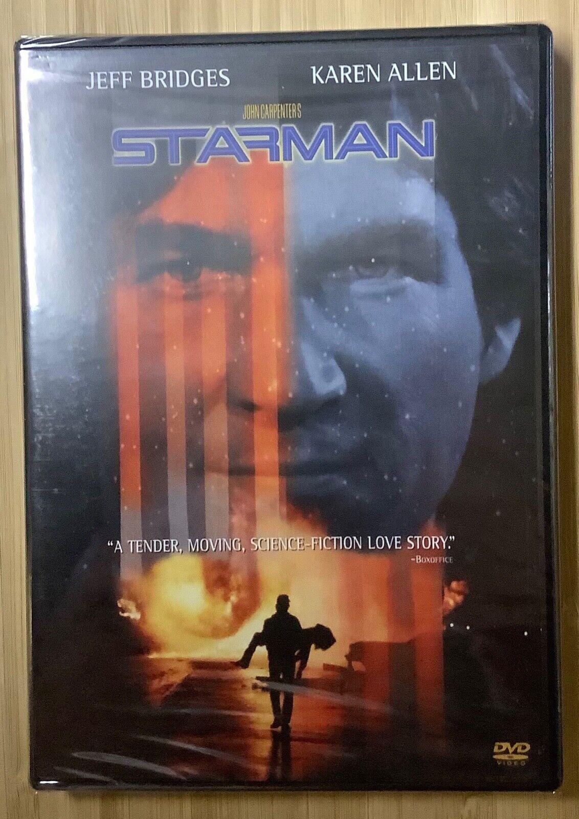 Starman 1984 FS DVD Jeff Bridges Karen Allen John Carpenter Sci-fi NEW SEALED - $5.00
