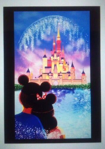 Disney Wonderground Gallery Magic Kingdom Our Happy Place Artcard, NEW