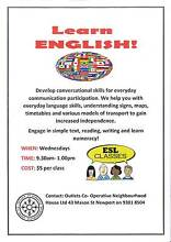 ENGLISH CONVERSATIONAL CLASSES Melbourne CBD Melbourne City Preview