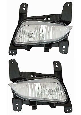 fit BUICK ENCORE 2017-2019 RIGHT LEFT FOG LIGHTS DRIVING BUMPER LAMPS CAPA PAIR