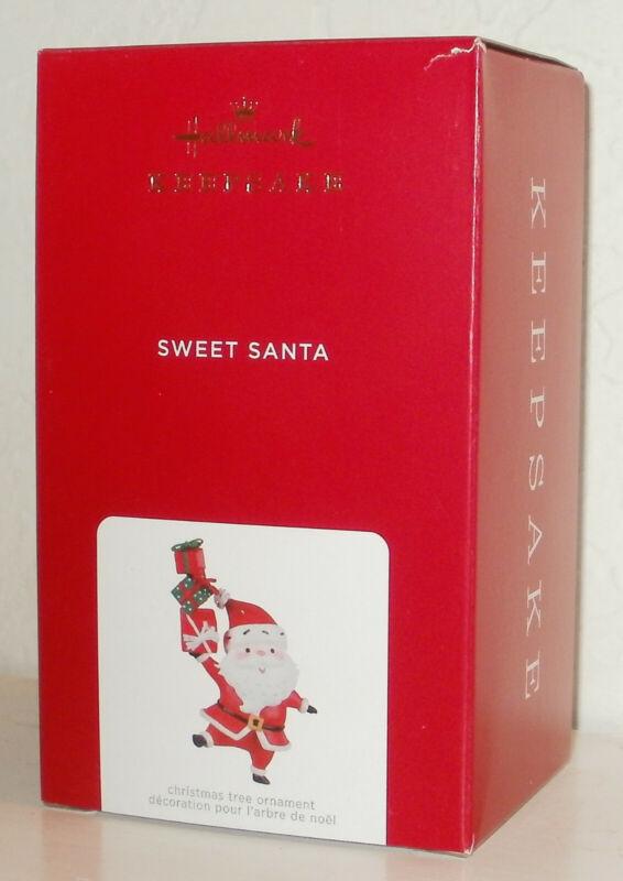 2021 Hallmark Keepsake Ornament Sweet Santa With Christmas Gifts Early Sellout