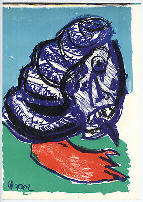 Karel Appel 1964 original lithograph - 1 for sale  Shipping to Canada