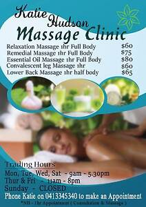 Katie Hudson Massage Clinic Sandgate Brisbane North East Preview