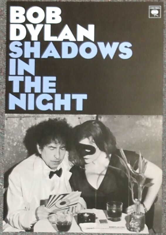 Bob Dylan Shadows in the Night 2014 Double-sided PROMO POSTER