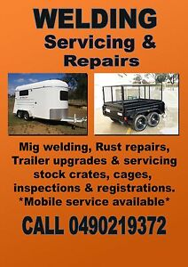 MOBILE TRAILER REPAIRS & SERVICING -- Caravan, floats, campers. Adelaide CBD Adelaide City Preview