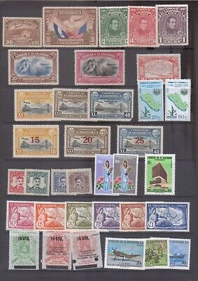 El Salvador Collection of Mint Airs