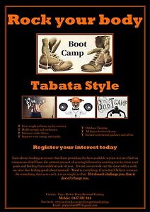 Personal Trainer - BOOTCAMPS & HEALTH AND FITNESS CHALLENGE Cooran Noosa Area Preview