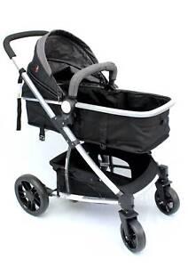 Brand New 2in1 Aluminium Baby Pram Baby Stroller Bassinet Jogger