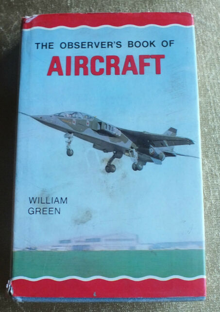 The Observer's Book of Aircraft by William Green 1971 edition hardback collectab
