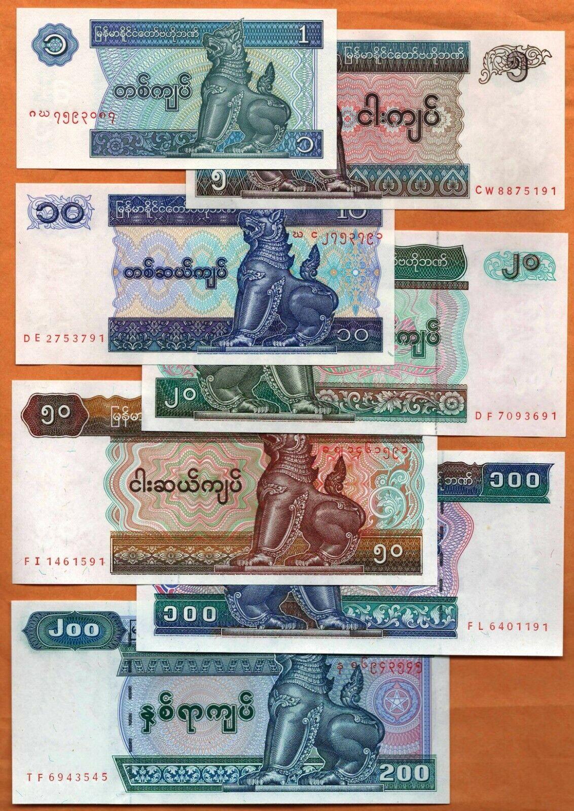 Myanmar Burma 1000 Kyats Paper Money 2004 UNC