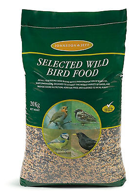 Johnston & Jeff Standard Wild Bird Mixed Seed Great Quality 20KG Great Value