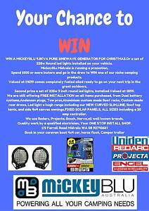 Win a Pure sine wave generator, or a set of 225w 9 inch Led Round Midvale Mundaring Area Preview