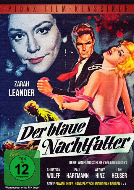 Der blaue Nachtfalter * DVD Thriller Krimi mit Zarah Leander Pidax Film Neu Ovp
