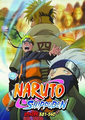 Naruto Shippuden TV Series DVDs Box Set (Episodes 381-540) with English Dubbed