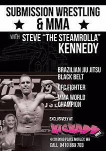Kids MMA Morley with UFC Fighter Steve Kennedy!! Morley Bayswater Area Preview