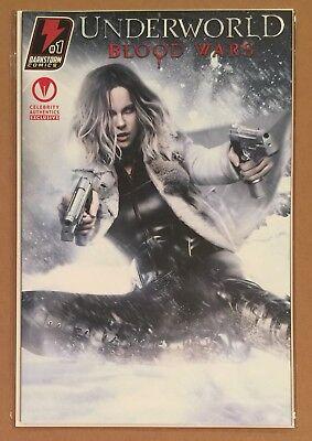 Underworld Blood Wars  1   Celebrity Authentics Variant   Kate Beckinsale Photo