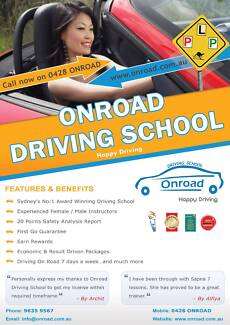 Driving School Glenmore Park, Drivinng Lesson Penrith, Woodcroft Woodcroft Blacktown Area Preview