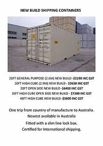 Shipping Containers 20FT & 40FT Hemmant Brisbane South East Preview