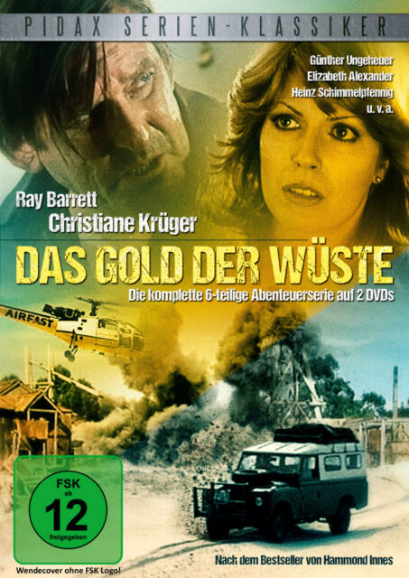 Das Gold der Wüste * Die komplette 6-teilige Abenteuerserie 2 DVDs Pidax Neu