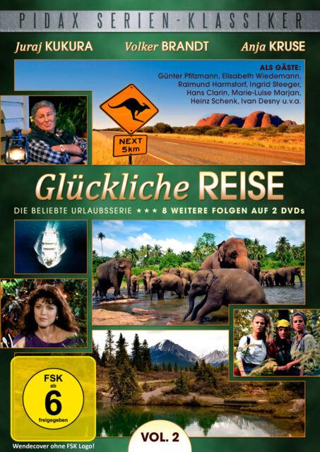 Glückliche Reise Vol. 2 - DVD weitere 8 Folgen Urlaub Serie Pidax Neu Ovp