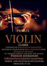 PRIVATE VIOLIN CLASSES BY PROFESSIONAL SOLOIST (Half Priced!) Doncaster Manningham Area Preview