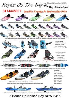 Nelson bay kayak best value 9' fishing kayak package