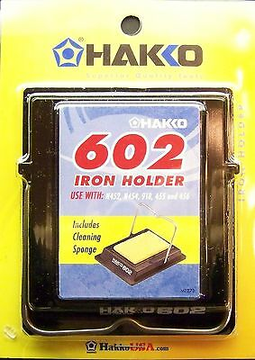 HAKKO IRON HOLDER 602 Includes Cleaning Sponge Stained Glass