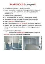 LARGE ROOM IN A GRANNY FLAT IN EAST BRISBANE - COVENIENT LOCATION East Brisbane Brisbane South East Preview